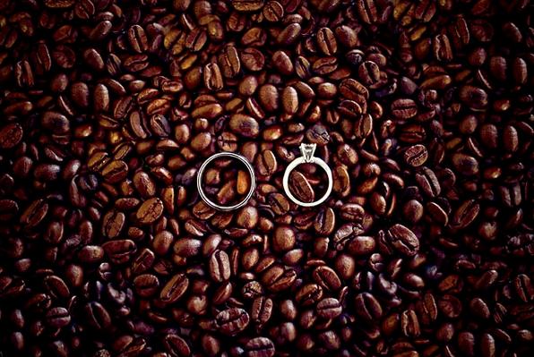 anello fidanzamento matrimonio caffé