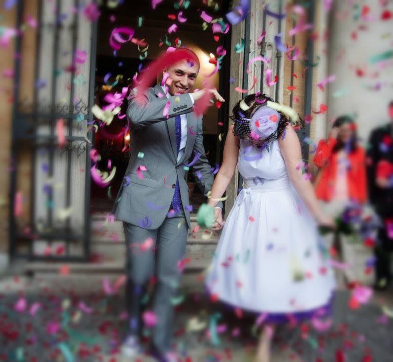 coriandoli sposi