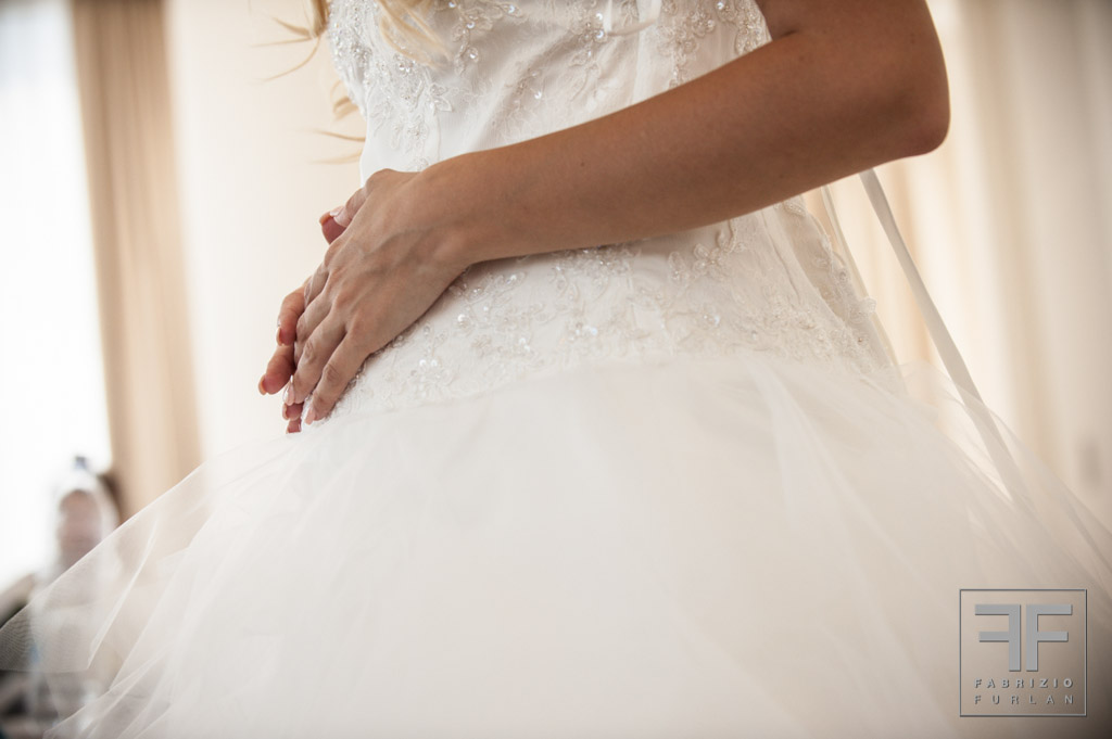 sposa dolce attesa
