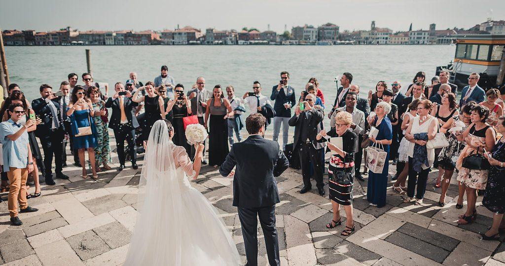 sposi venezia foto