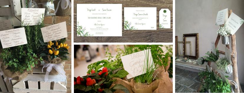Tableau Matrimonio Tema Erbe Aromatiche : Matrimonio a tema erbe aromatiche come scegliere tableau
