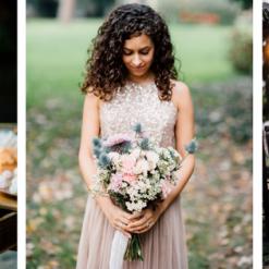 matrimonio ispirazioni boho-chic rosa