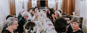 ospiti cena nozze