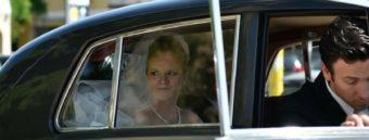 arrivo sposa auto
