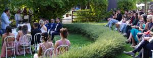 matrimonio cerimonia giardino