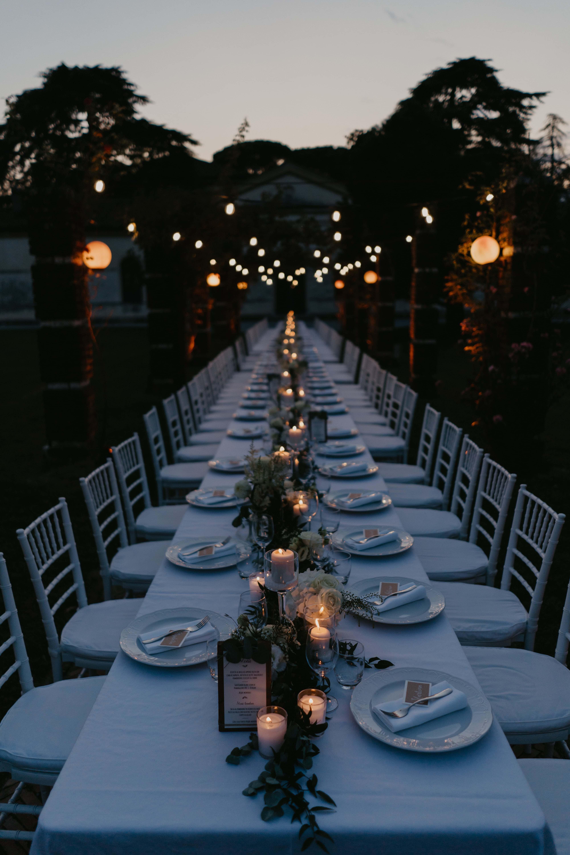 luci e candele matrimonio